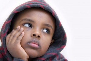 Image of a Bored Kid